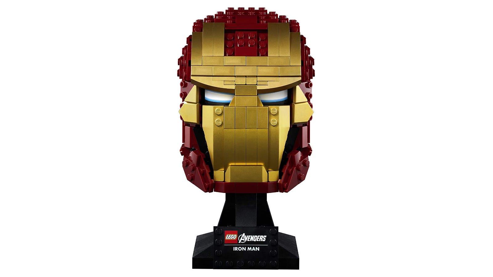 LEGO Marvel Iron Man Helmet set