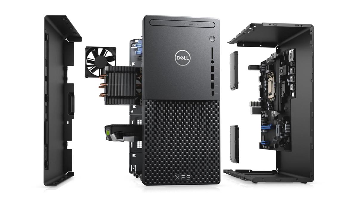 The Dell XPS desktop.