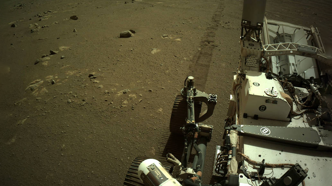 Hear the Perseverance Rover Drive Across Mars In These NASA Recordings