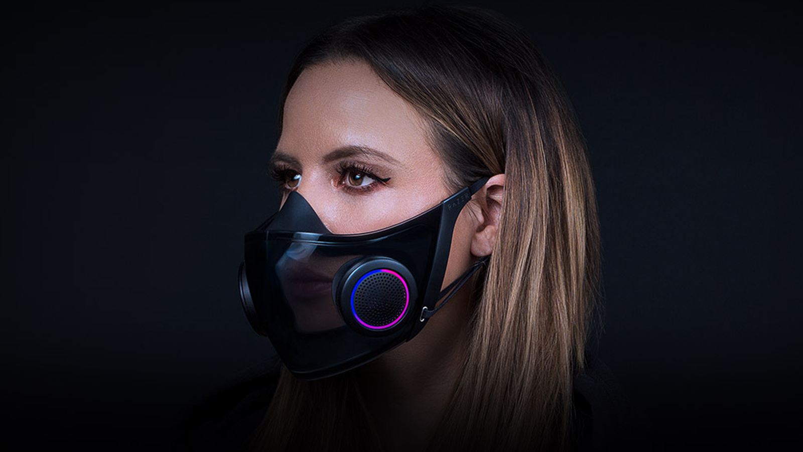 The Razer Project Hazel face mask.