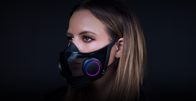 Razer's Concept RGB Face Mask Will Become a Reality