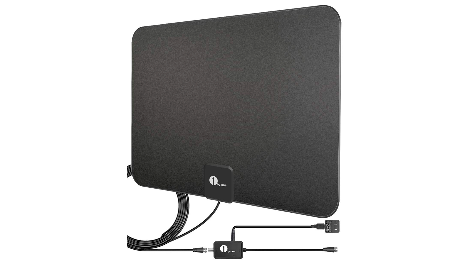 The 1 BY ONE digital antenna for OTA TV.