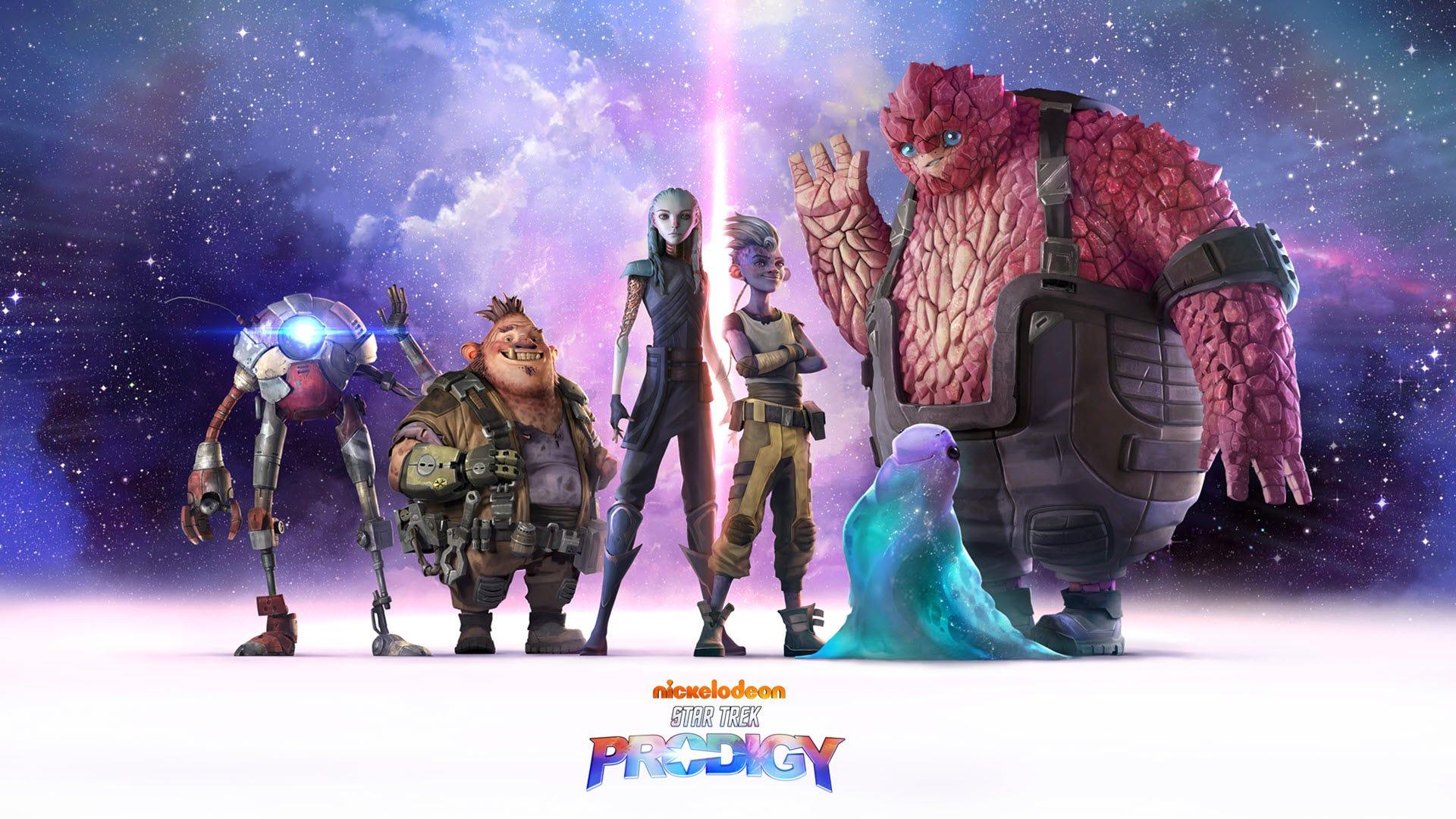 Several alien characters seen in 'Star Trek: Prodigy'