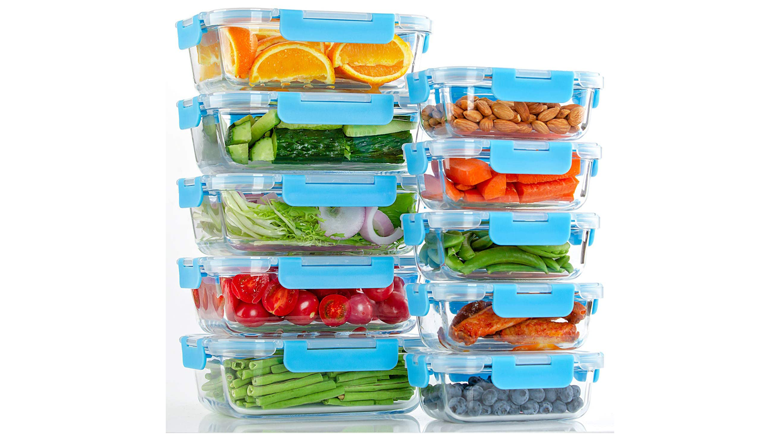 When Meal Prepping, Use These Amazing Glass Containers