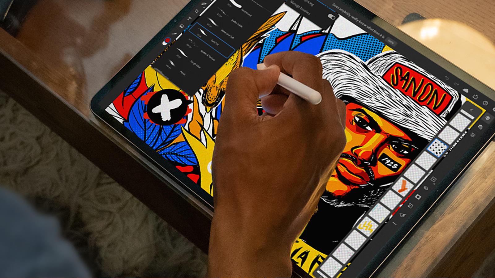 Adobe; Photoshop lanza un paquete de iPad de $ 15 con Fresco, Illustrator y más 12