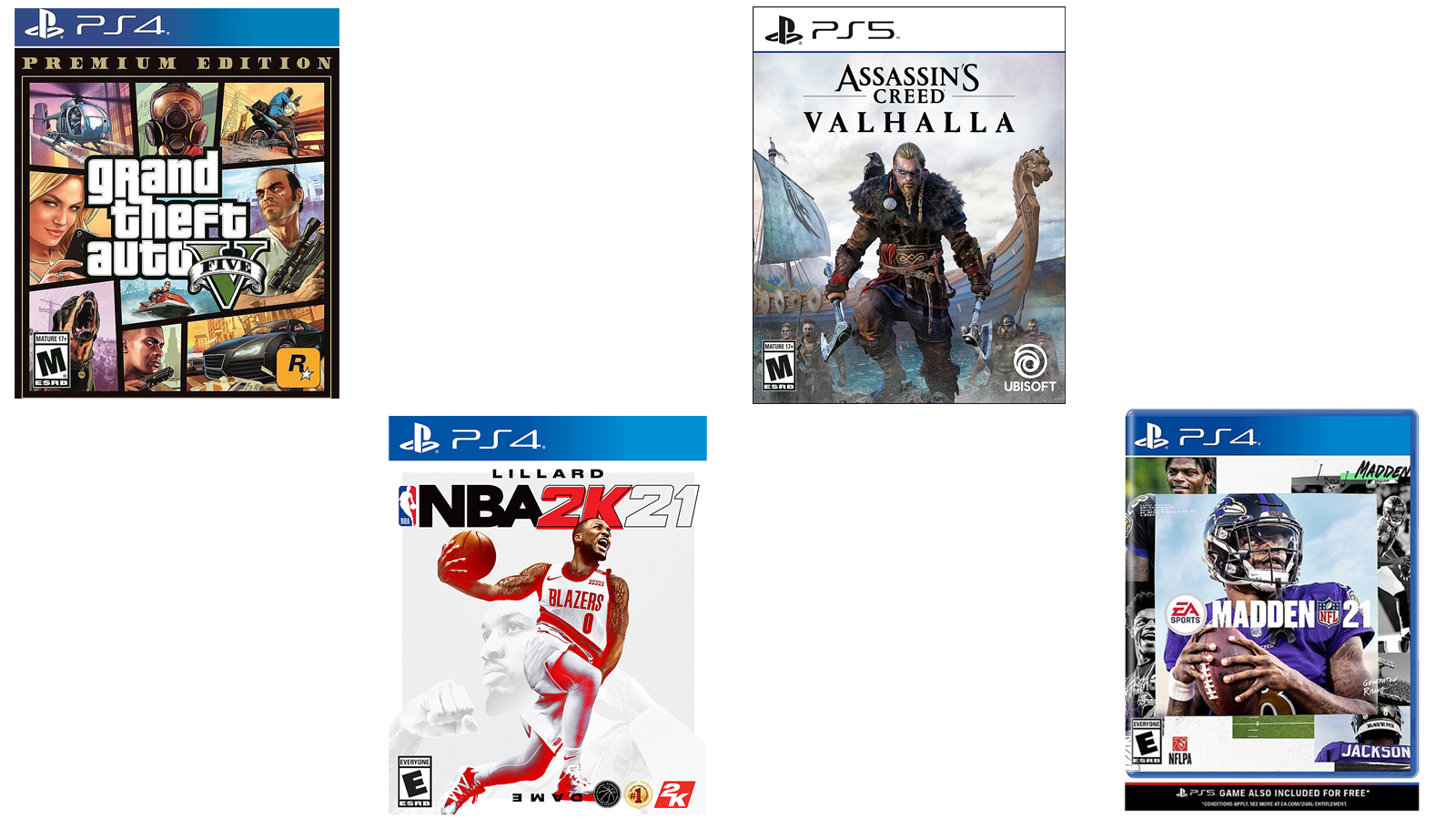 Assorted Video Games