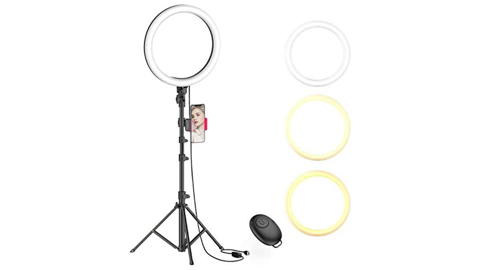 This Selfie Ring Light is a Must-Have for Smartphone Photos and Videos