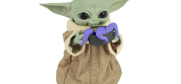 This Baby Yoda Toy Will Eat You Out of House and Home