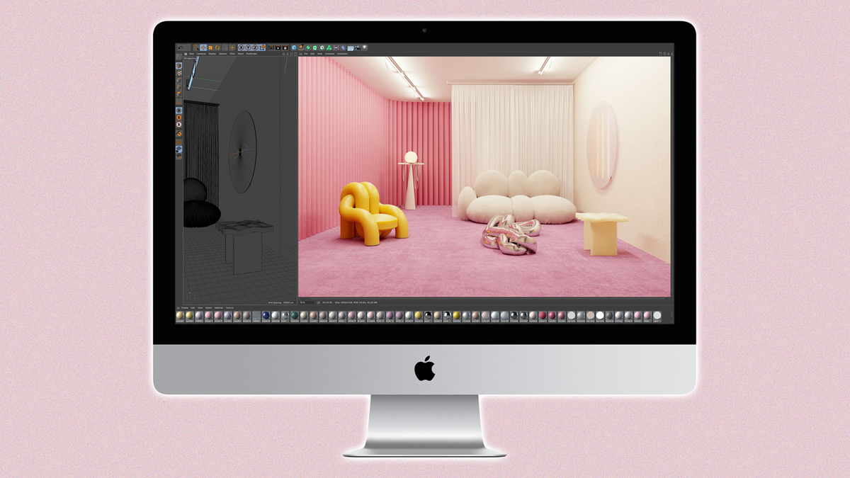 A photo of the 21.5-inch iMac