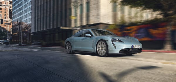 Why Not Rent Porche's Taycan EV For $295 a Day?