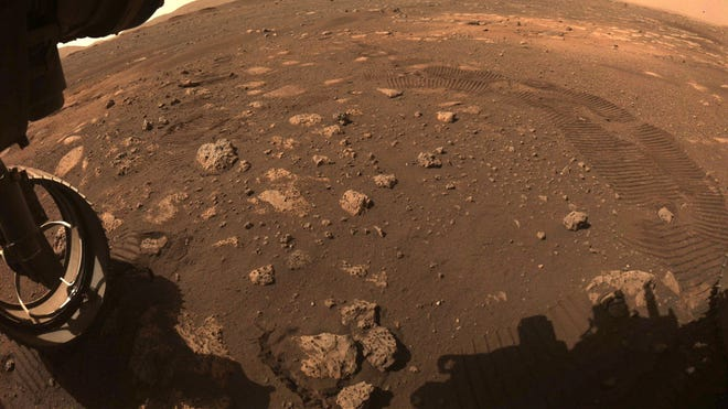 Listen to Martian Winds and Lasers in Recordings Taken by Perseverance Rover