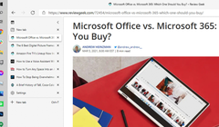 Microsoft Edge Adds Vertical Tabs, Improved Anti-Tracking Tools