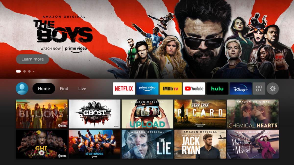 Amazon Fire TV Interface Update