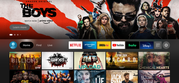 Amazon's New Fire TV Updated UI Arrives on More Streaming Sticks and Smart TVs
