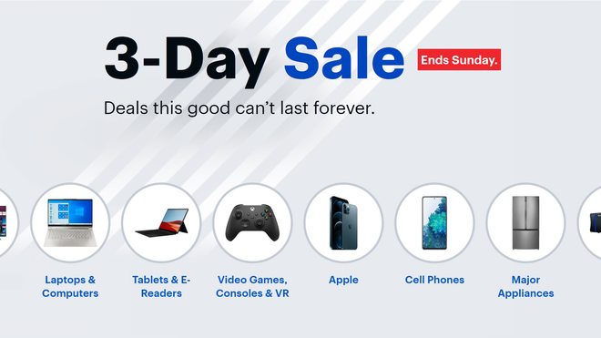 Save Big During Best Buy's 3-Day Sale, Ending Sunday