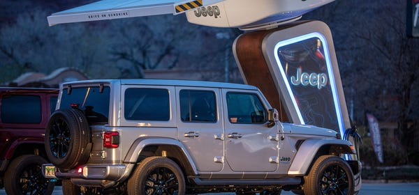 Jeep Will Install EV Charging Stations at Off-Road Trailheads