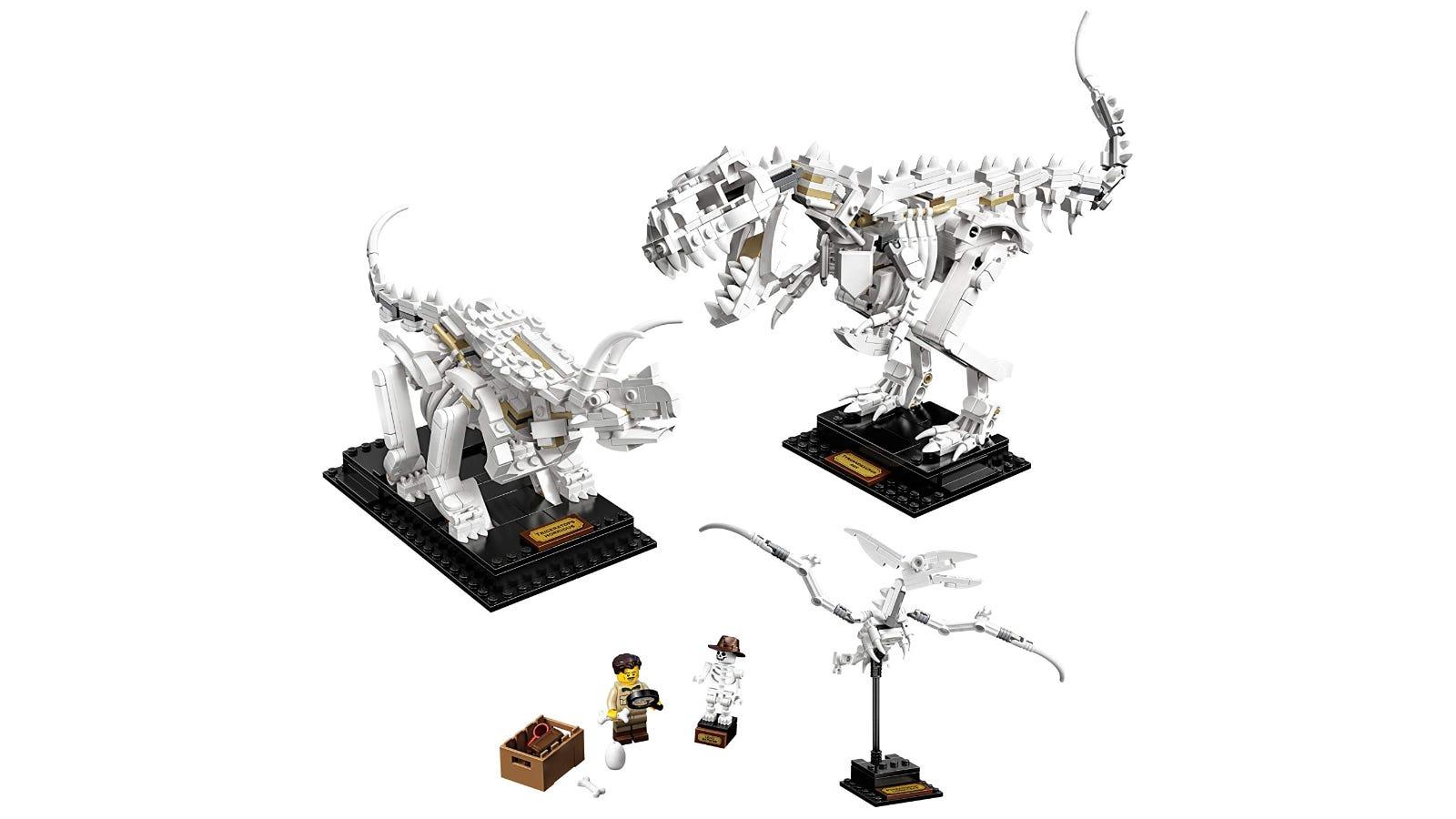 LEGO Ideas Dinosaur Fossils set