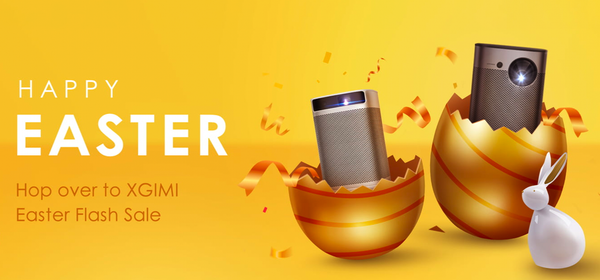 Save Big on Portable Projectors During XGIMI's Pre-Easter Sale
