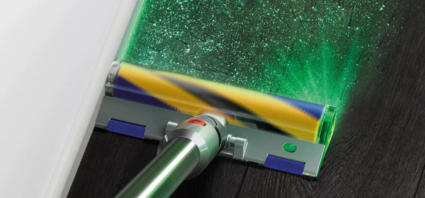 Dyson's New Vacuum Uses Lasers to Reveal Hidden Dust While You Clean