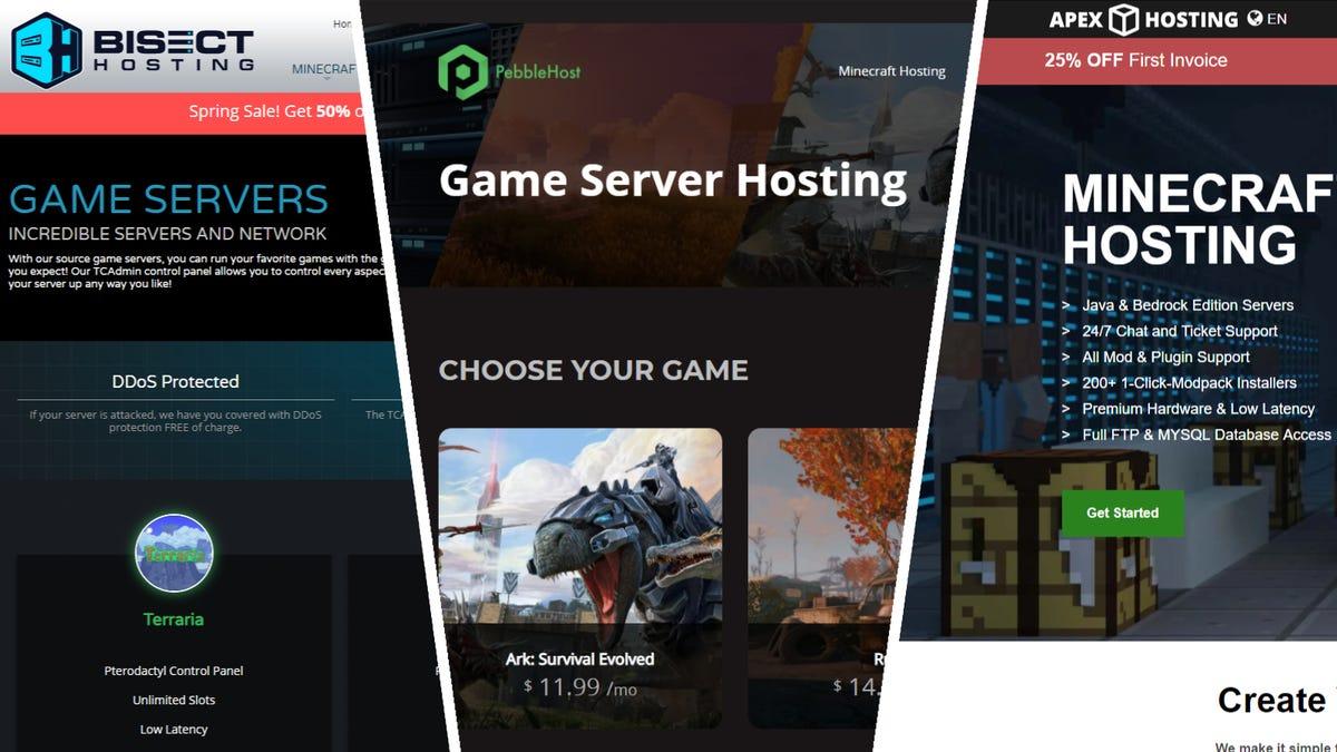Les 4 meilleurs sites Web pour louer des serveurs de jeux à
