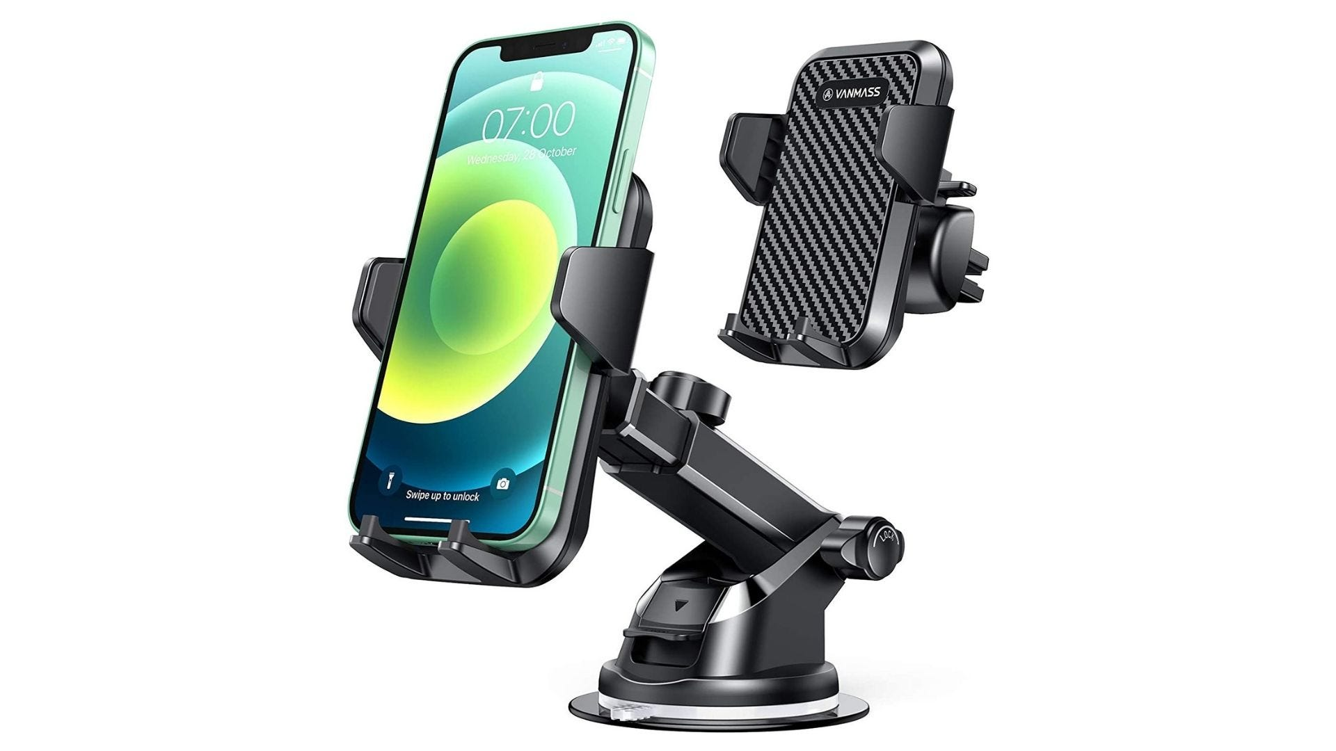 vanmass phone mount for thick phone cases