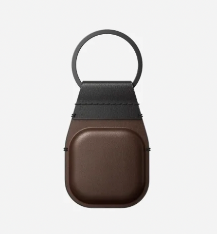 Nomad Airtags Leather Keychain