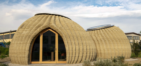 This Extraordinary House Was 3D Printed from Raw Earth