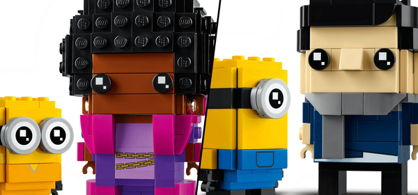 LEGO Just Announced Two New BrickHeadz 'Minions: The Rise of Gru' Sets