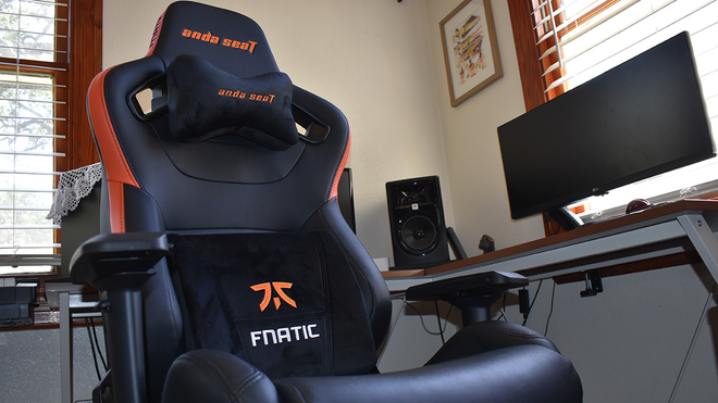 Anda Seat Fnatic Edition Review: A Very Large, Very Comfortable Gaming Chair
