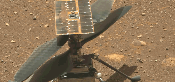NASA's Ingenuity Helicopter Makes First Flight on Mars