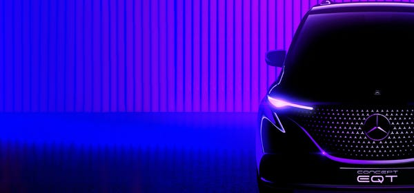Mercedes-Benz Teases an Entry Level Electric Minivan