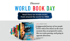 Amazon Is Offering 10 Free eBooks for World Book Day (And You Don't Need Prime)