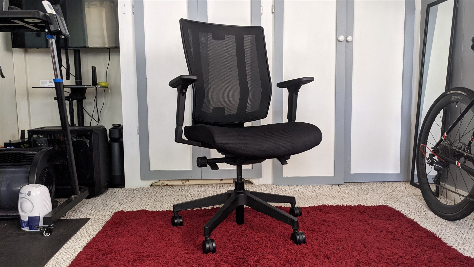 The Vari Task Chair with the headrest removed