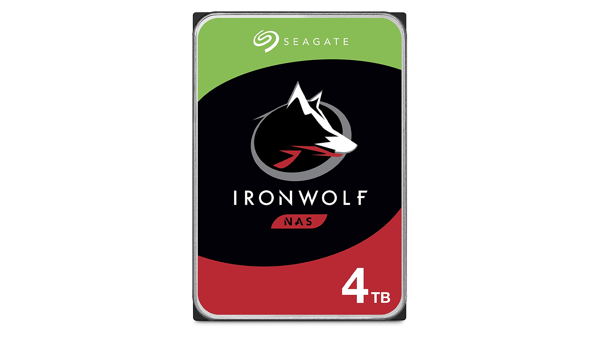 The Seagate IronWolf NAS hard drive.