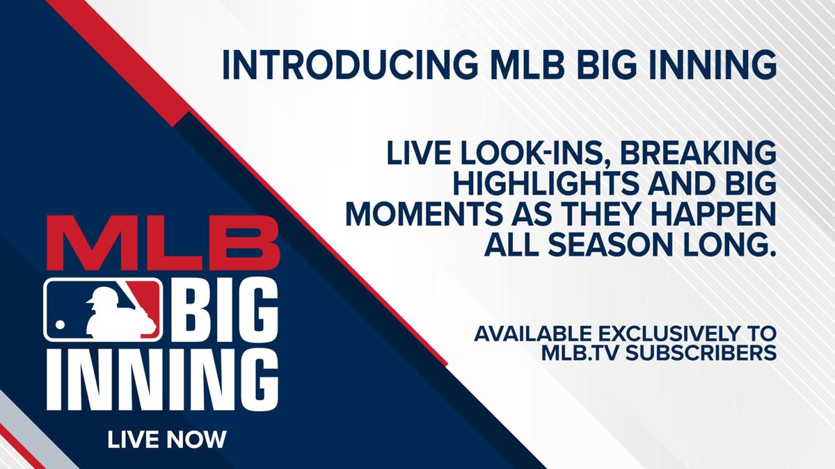 The MLB Big Inning logo.