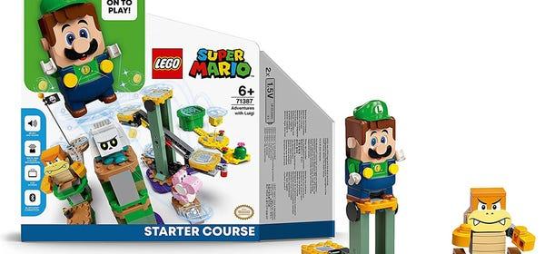 LEGO Luigi Starter Set Leaked on Amazon