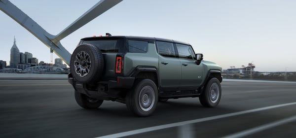 The New Hummer SUV EV Actually Looks Like a Hummer, Starts at $80,000