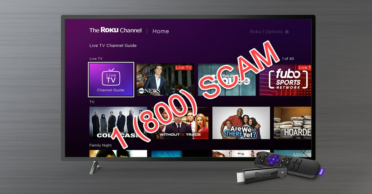 A Roku TV with