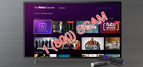 Scam Alert: Roku Will Never Charge for Activation