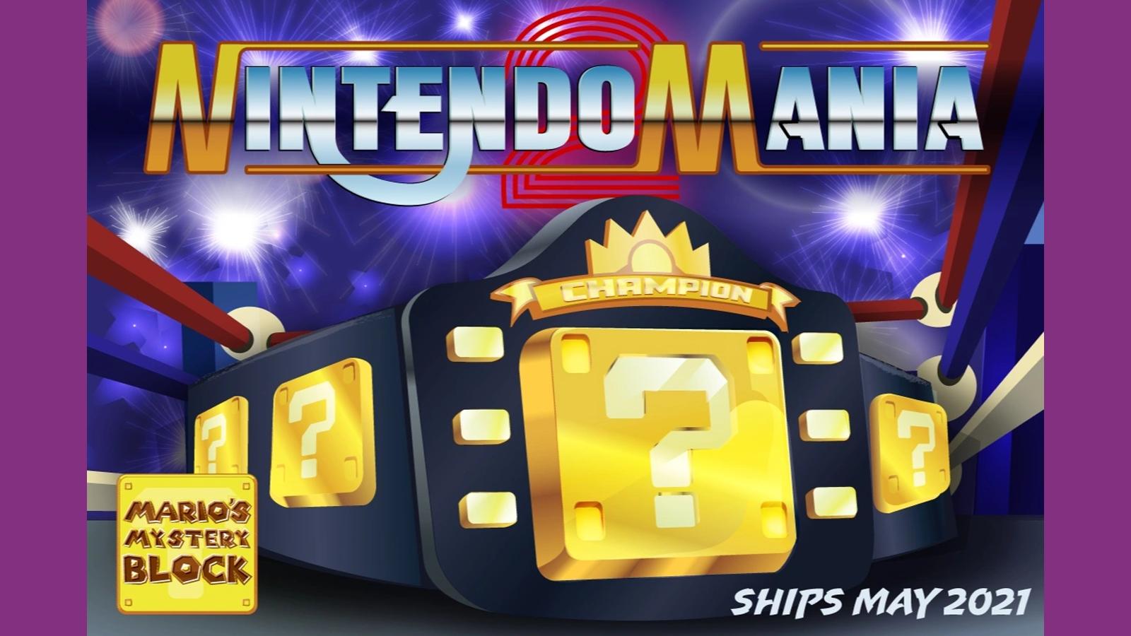 Mario's Mystery Block subscription box website