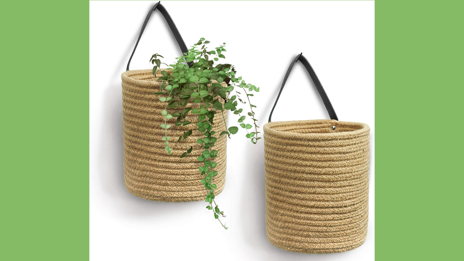 Add a Splash of Style to Your Home with These Cute Jute Hanging Baskets
