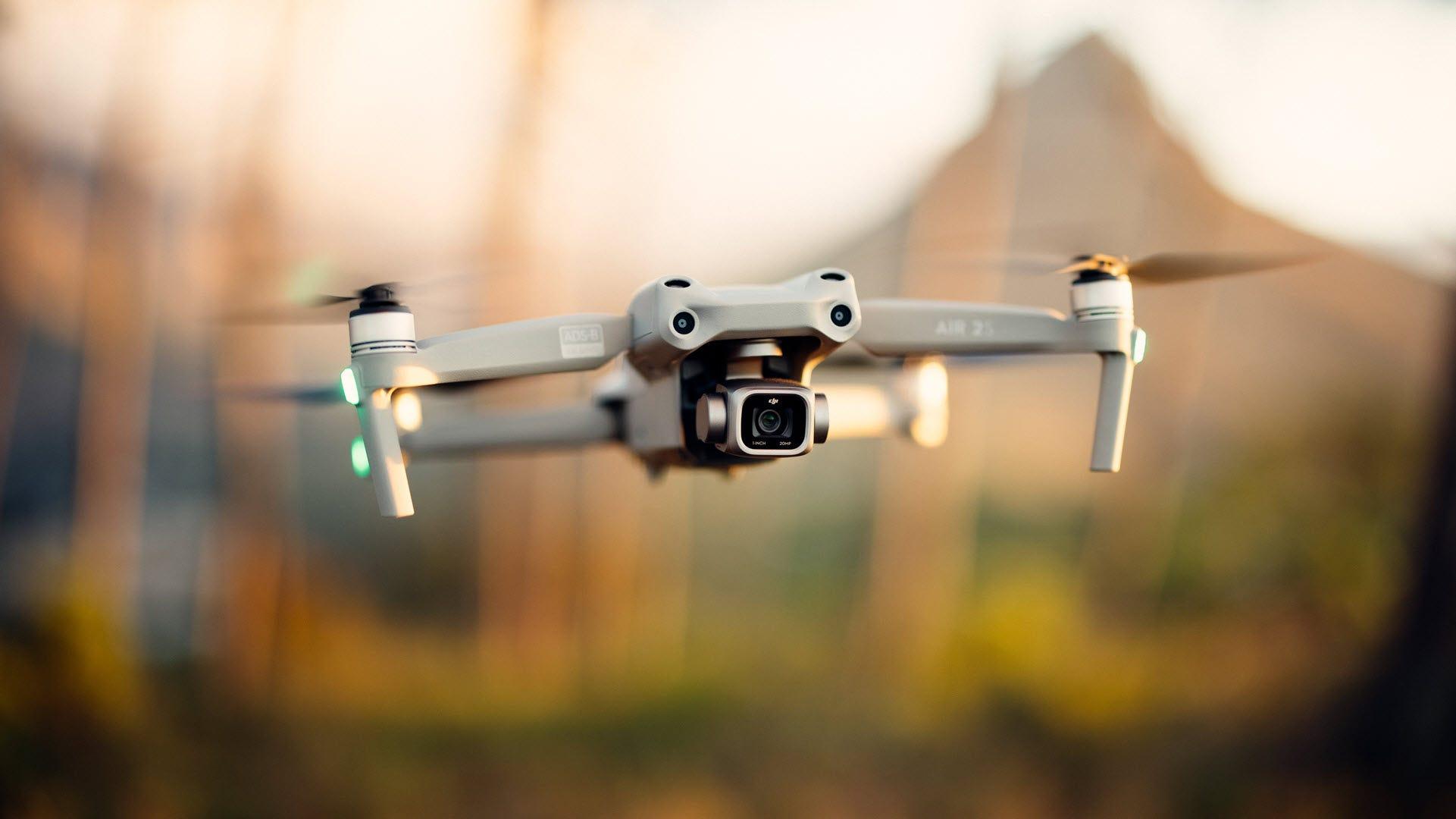 "DJI Air 2S selecciona una cámara mejorada ""Mavic"" Apodo 12"