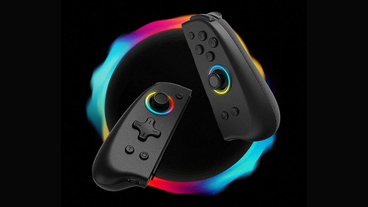 The Binbok RGB Joy-Cons.