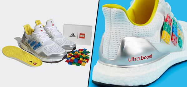 The New LEGO x Adidas Sneakers Are a Blank Canvas for Your Creativity