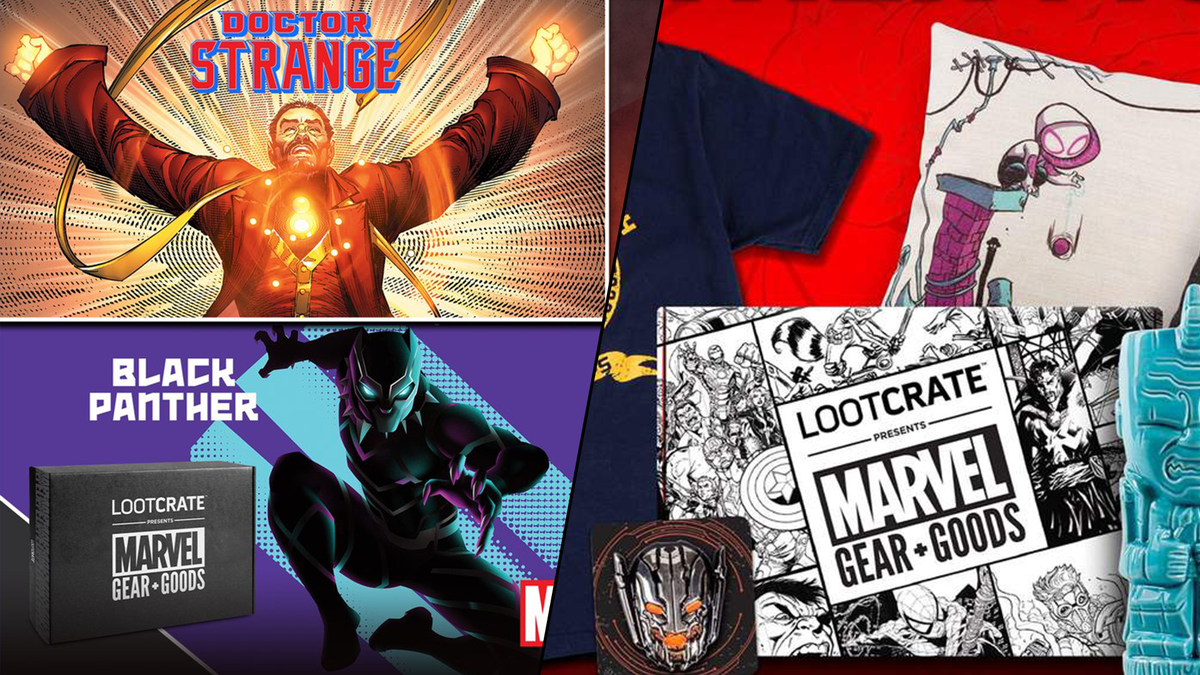 Geeky subscription boxes from Marvel and Loot Crate