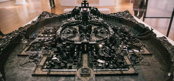 This 100,000-Piece LEGO Sculpture Depicts a Reimagined African Metropolis