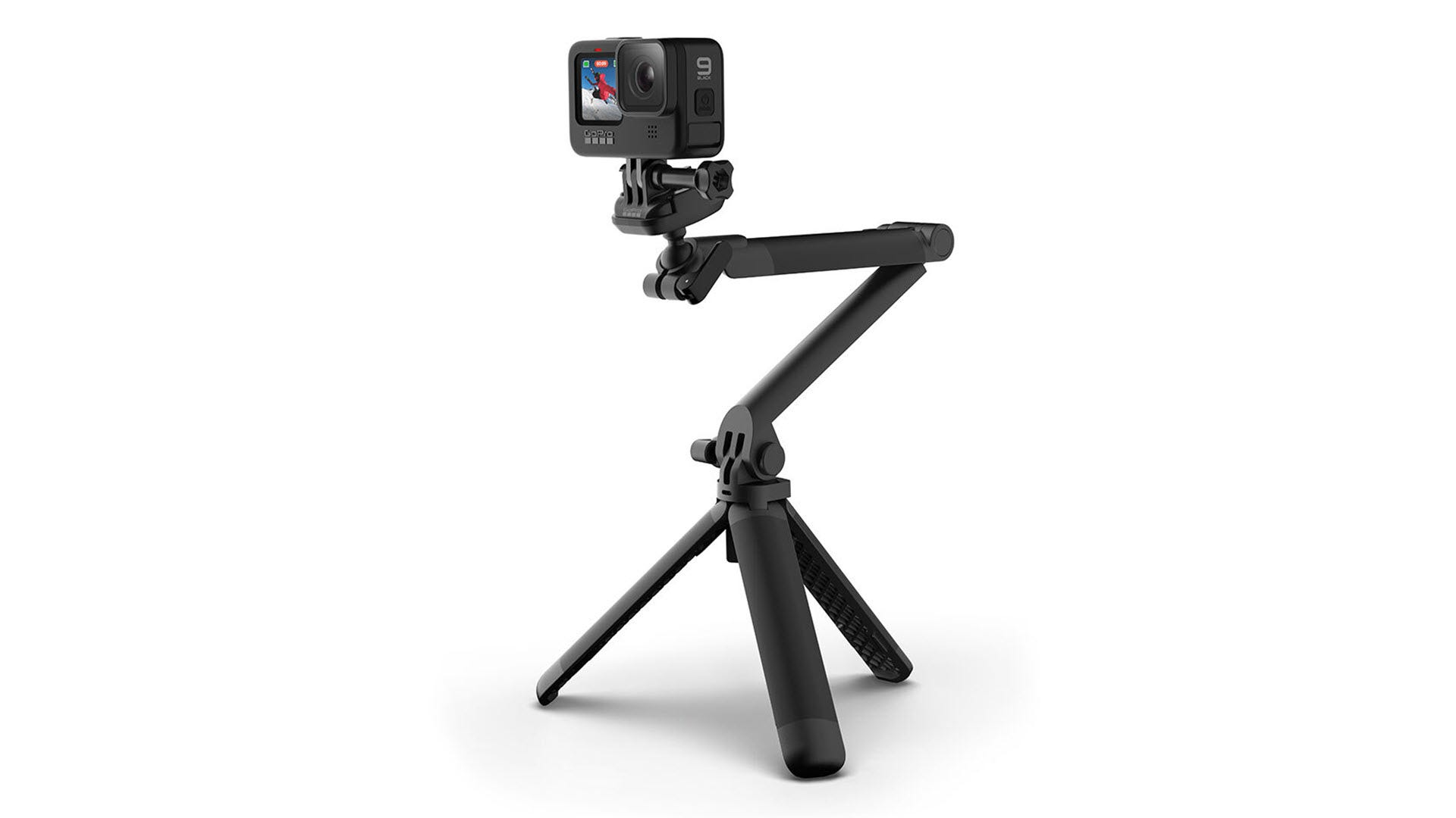 GoPro's New 3-Way 2.0 Mount is a Better Tripod, Selfie Stick, and Grip thumbnail