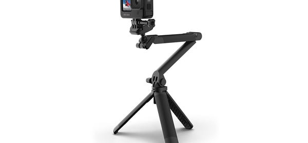 GoPro's New 3-Way 2.0 Mount is a Better Tripod, Selfie Stick, and Grip
