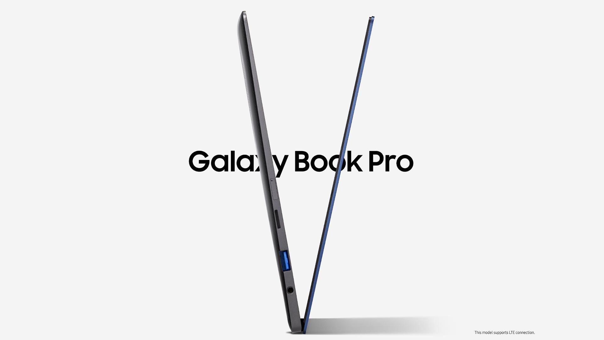 The Samsung Galaxy Book Pro