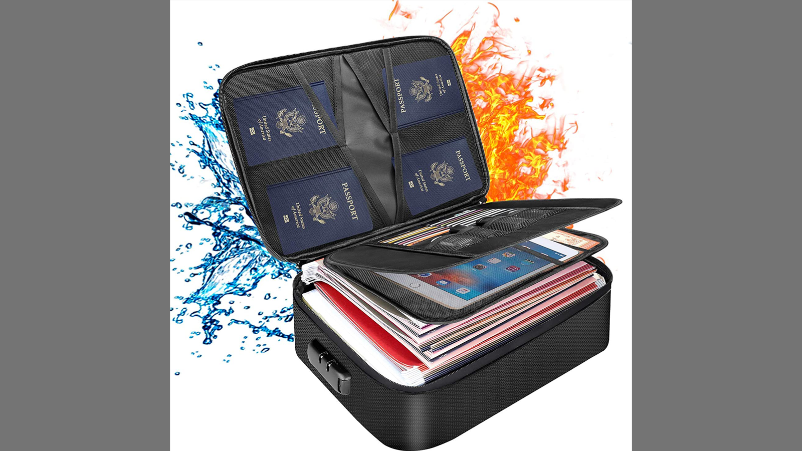 Protect Your Important Documents in This File Storage Case
